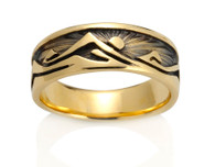Womens Western Mountain Ring David Virtue Jewelry