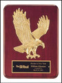 Sculptured Eagle Recognition Award Plaque, Laser Engraved, P3749