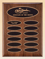 American Walnut Perpetual Recognition Plaque