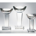 "Glory Trophy 7"", 3 sizes available, Crystal Award"