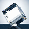 CRYSTAL BEVELED DIAMOND CUBE