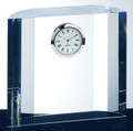 OPTICAL CRYSTAL FANTACY BLOCK CLOCK