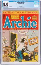 Archie Comics #21 (Archie, 1946) CGC VF 8.0