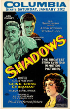 "Shadows (Preferred Pictures, 1922). Window Card (14"" X 22"")"