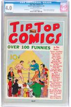 Tip Top Comics #1 (1936) CGC 4.0 1st Tarzan, Li'l Abner, Fritzi Ritz