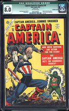 Captain America Comics #78 (1954) CGC 8.0 Last issue Scarce!