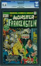 Frankenstein #1 CGC 9.4