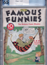 Famous Funnies #13 PGX 6.5