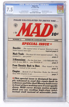 Mad #12 CGC 7.5