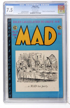 Mad #15 CGC 7.5