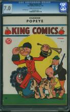 King Comics #32 CGC 7.0