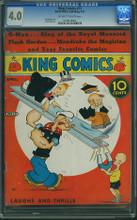 King Comics #13 CGC 4.0