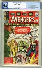Avengers #1 PGX 4.5