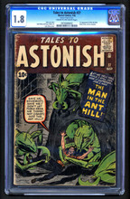 Tales to Astonish #27 CGC 1.8