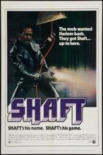 """Shaft (1971) One Sheet (27"""" X 41"""") MINT"""