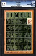 Humbug #5 CGC 8.5 VF+