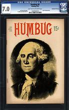 Humbug #8 CGC 7.0 FVF