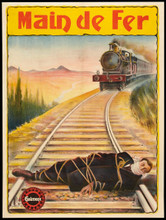 """Main de Fer (Gaumont, 1912) (30"""" X 40"""")"""