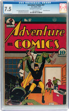 Adventure Comics #57 CGC 7.5 VF-