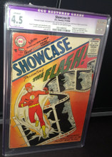 Showcase #4 (1956) CGC 4.5 vg+ Slight (A)