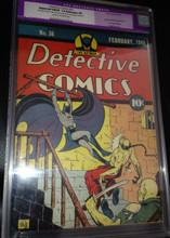 Detective Comics #36 (1940) CGC 7.0 Restored