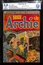 Archie Comics #9 (MLJ, 1944) CBCS 5.0 VG/F (R)
