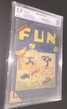 More Fun Comics #09 (1936) CBCS 1.5 Unrestored Very Rare! Gerber 9