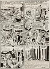Jack Davis Panic #2 pg #7 (1954,EC) Original Art Mad's sister comic!
