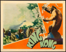 "King Kong (1933, RKO) Original Lobby Card 11""x14"""