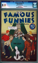 FAMOUS FUNNIES (1939) #18 (1936) CGC 8.0 VF Highest graded!