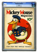 Mickey Mouse Magazine Vol.1 #5 (1936) CGC 4.5