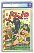 Jo-Jo Comics #21 (Fox,1948) CGC 8.0 VF