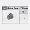 07-5350P7 Output Gear 10T (Black)