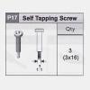 17-5350P17 Self Tapping Screw (3x16)