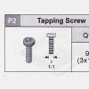 33-535WCBP2 Tapping Screw (3x10)