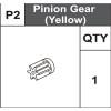 02-75400P2  Pinion Gear (Yellow)