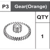 03-75400P3  Gear (Orange)