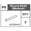 08-68400P8 Round Shaft (Middle)