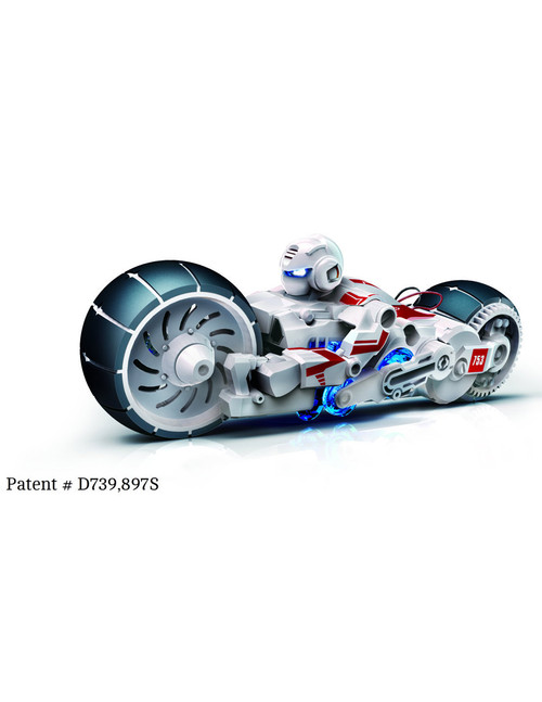 Salt Water Fuel Cell Motorcycle