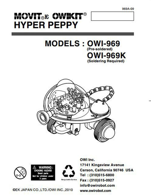 Hyper Peppy Manual