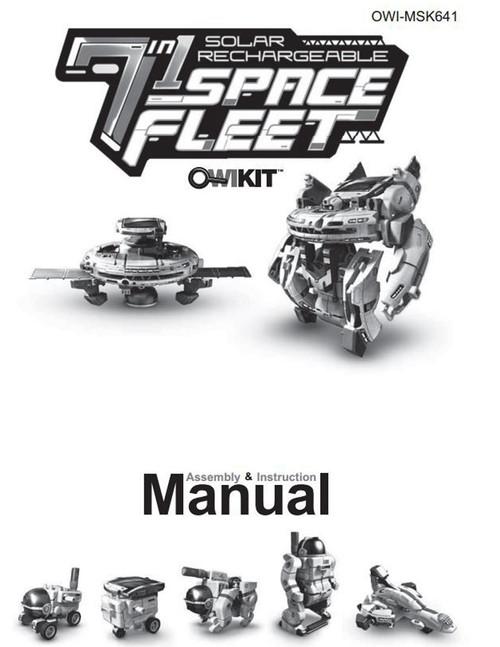Solar Space Fleet Manual