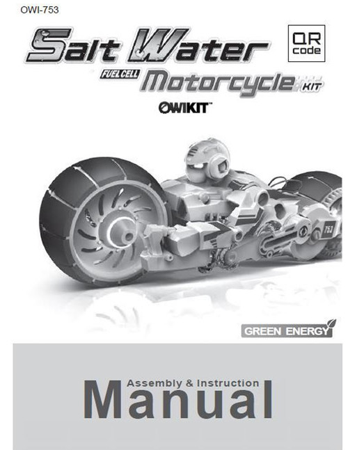 Salt Water Fuel Cell Motorcycle Manual