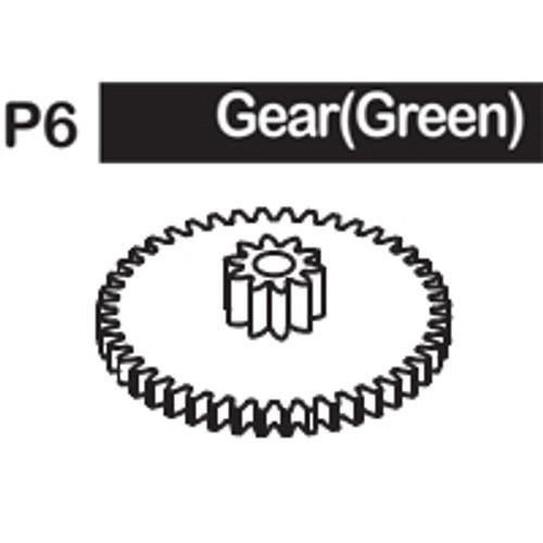 06-6150P6 GEAR(GREEN)