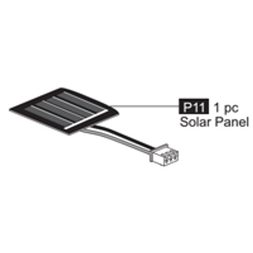 11- 64100P11 Solar Panel