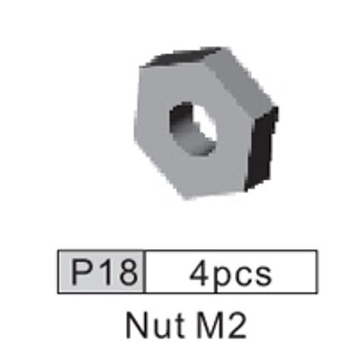 18-3530P18 P18 Nut M2