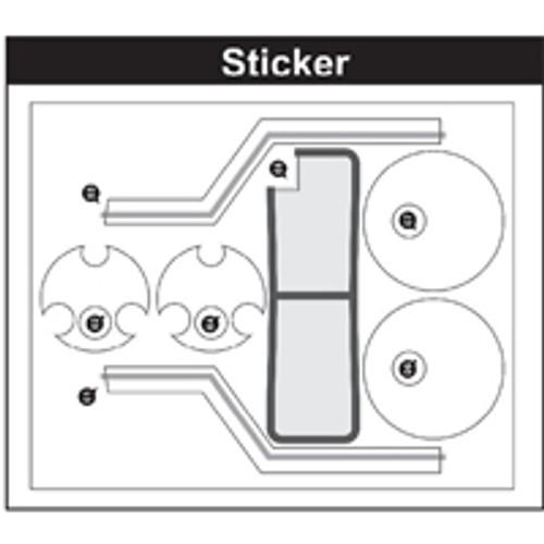 10-89100P10  Sticker
