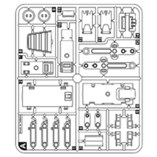 11-89100PPA  Plastic Part A