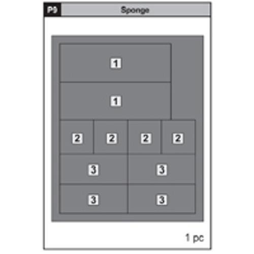 09-63200P9  Sponge