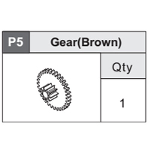 11-5360P5 Gear (Brown)