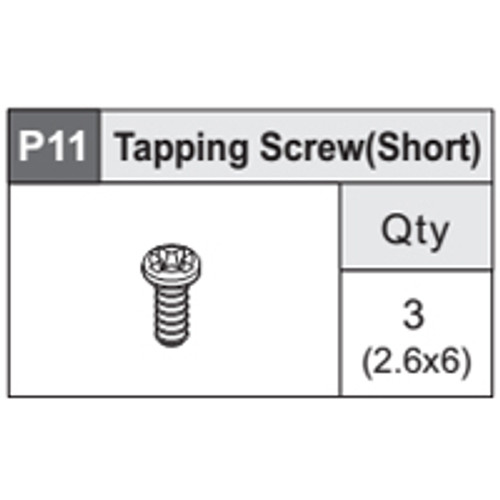 17-5360P11 Tapping Screw (Short)